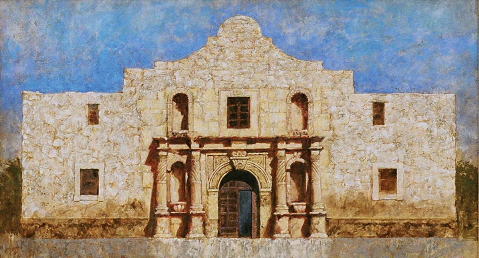 Talmage Minter Art Paintings Of Historic Texas Churches